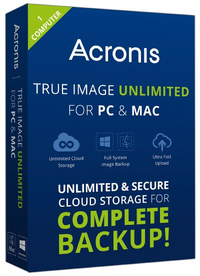 Acronis True Image Unlimited Image
