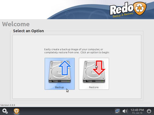 Redo Backup image